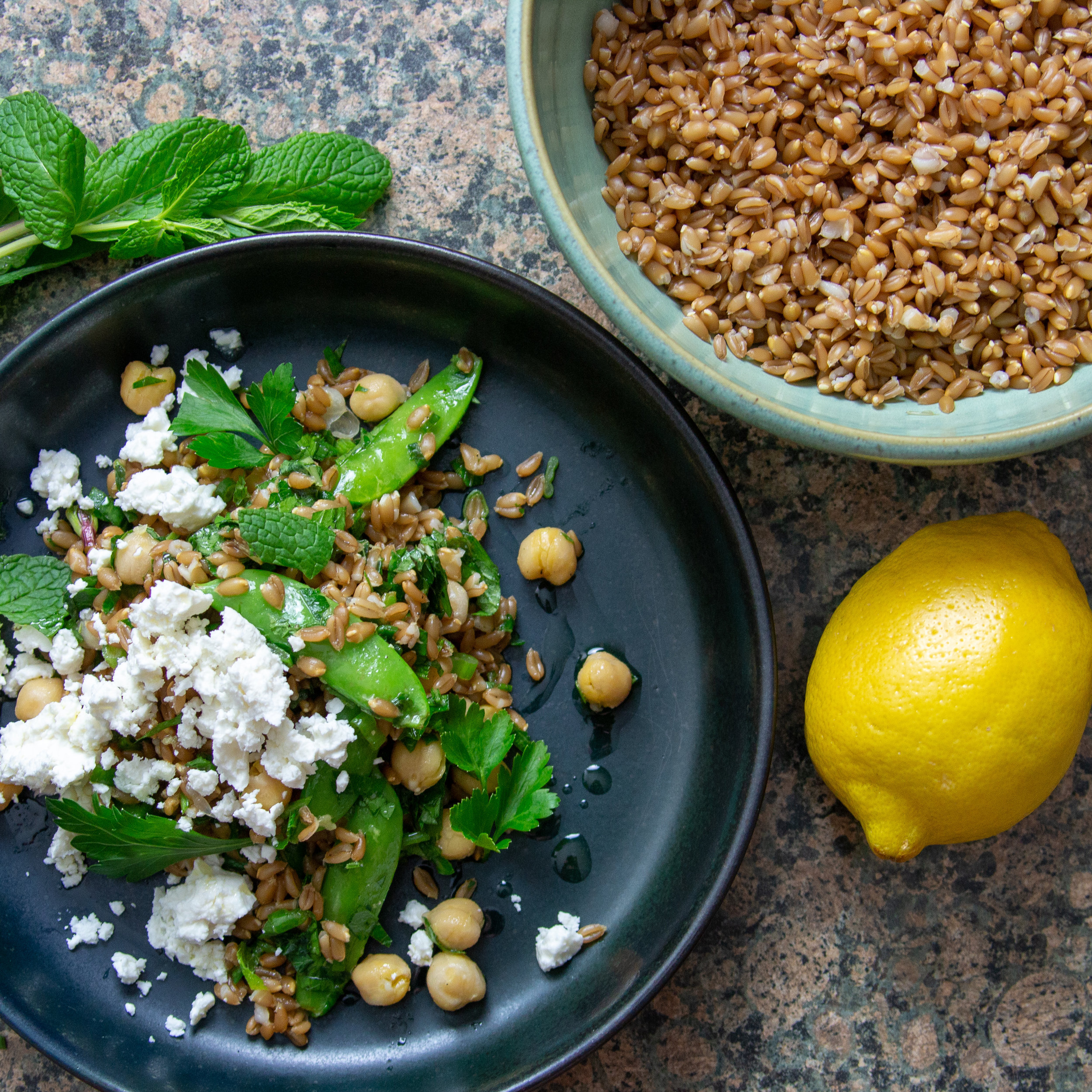 Farro Salad | Whole Grains 101