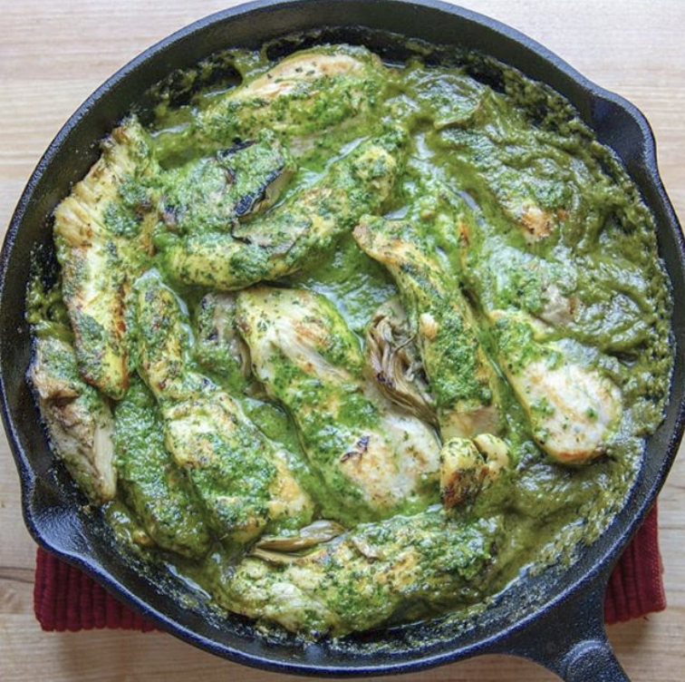 Spinach Walnut Pesto