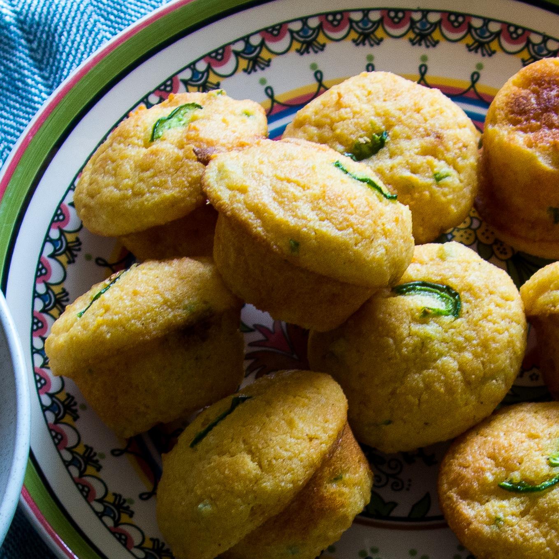 Jalepeno Corn Muffins