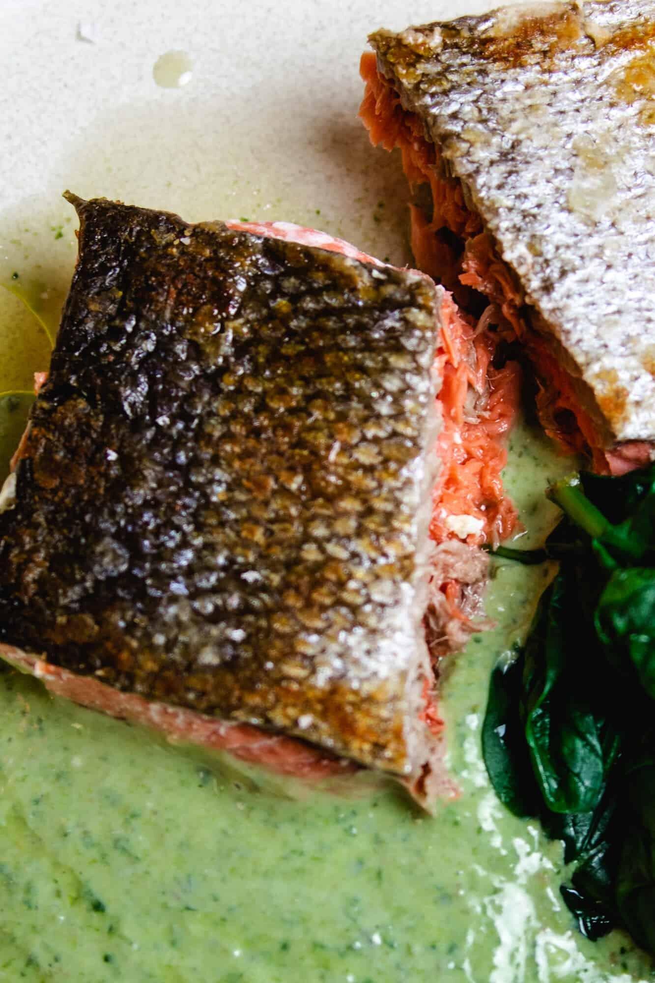 Foolproof Crispy Skin Salmon
