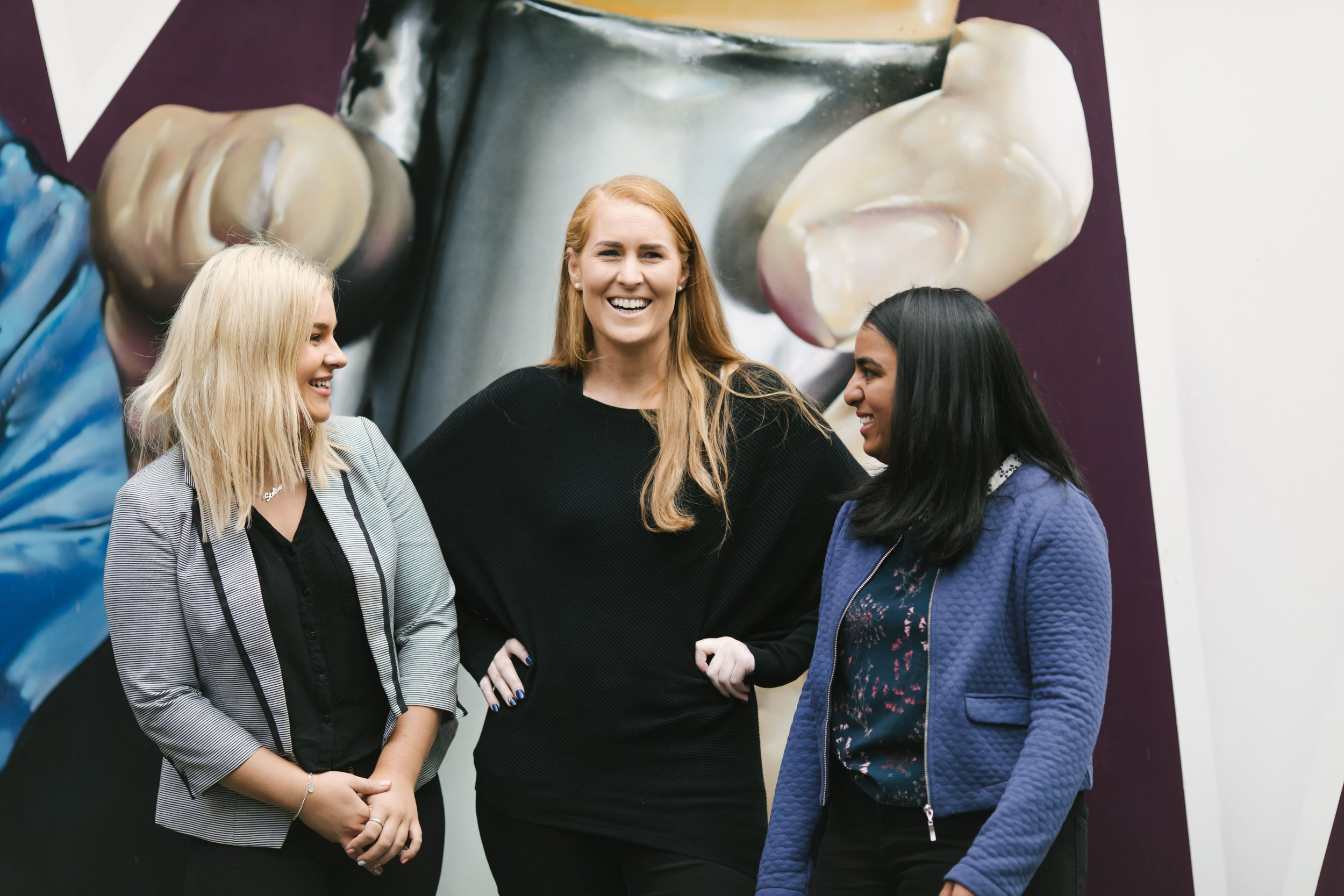 Renee, Business Support (left) - Lisa, Founder & Director (middle) - Simi, Accounting intern (right)  WE HAVE SIX OTHER WONDERFUL TEAM MEMBERS ACROSS NEW ZEALAND HELPING TO CREATE SUCCESS IN OUR CLIENTS BUSINESSES.  THIS EXCLUDES OUR PARTNER FIRMS.