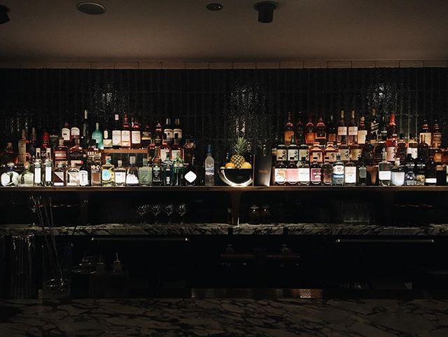 Smoke Back Bar Display -  @barangaroohouse at night — @etic__ @calidaprojects @solotel_group — #barangaroohouse#solotel#sydneyarchitecture#sydneydesign#interiorarchitecture#interiordesign#hospitalitydesign#sydneybars#bardesign#barangaroo#bottledisplay#backbar#sydneyinterior#sydneyinteriordesign