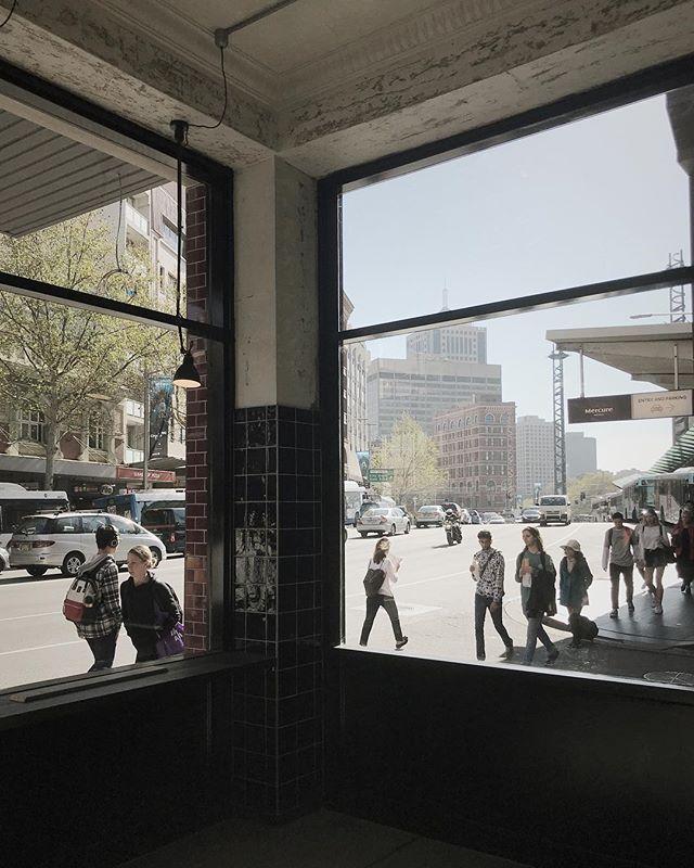 Morning view @saintgeorgedining — #bardesign#hospitalitydesign#cafedesign#sydneydesign#sydneyarchitects#sydneyinterior#sydneyarchitecture#hospitality#sydneycentral#interiordesign#australiaarchitecture#australiaarchitects#fitout#saintgeorgedining#underconstruction