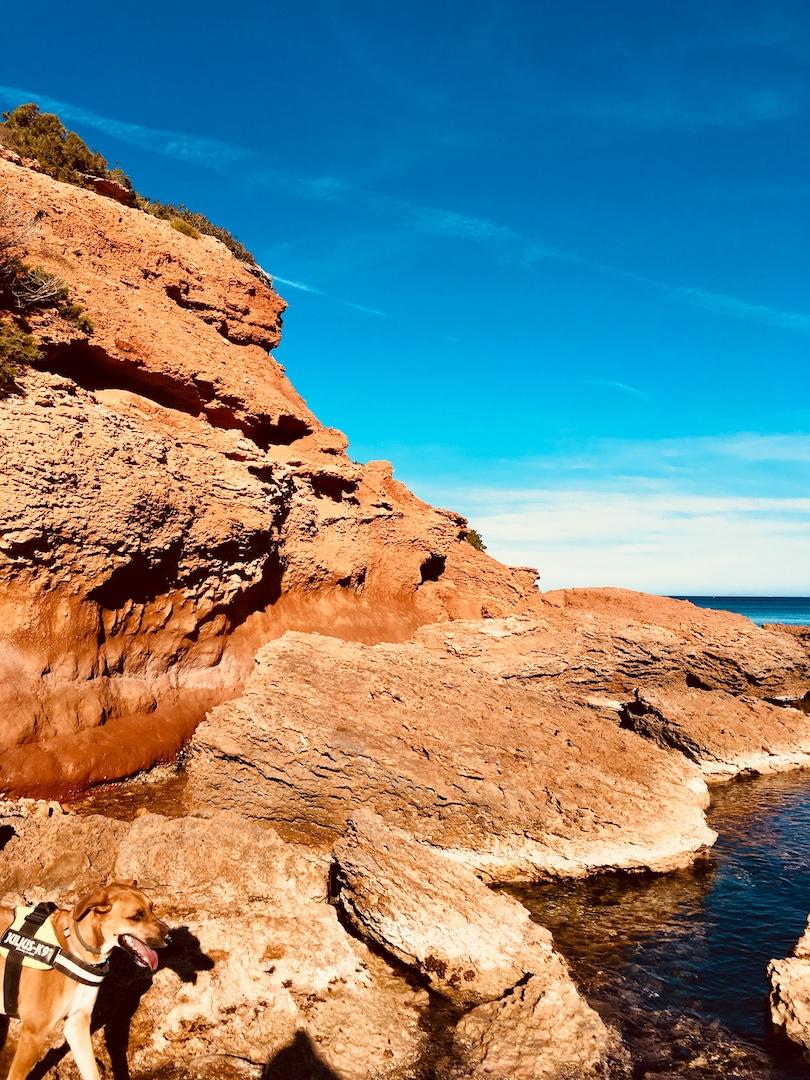 Spaziergang am Pou des Lleo in Ibiza. #wandern #urlaub #ibiza #spanien #kajak #schnorcheln #strand #urlaubstipps