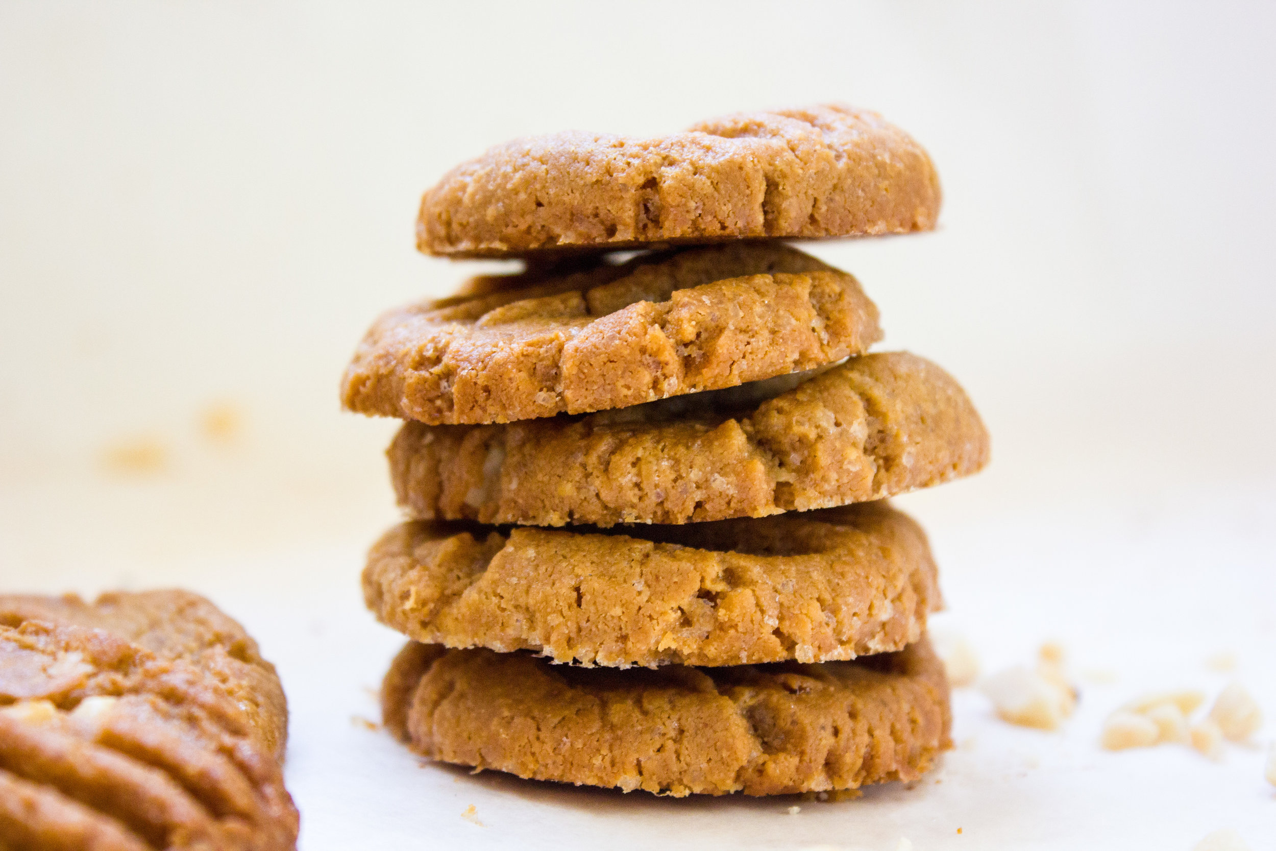 Peanutbutter cookies dipped in dark chocolate. #cookies #chocolate #peanutbutter