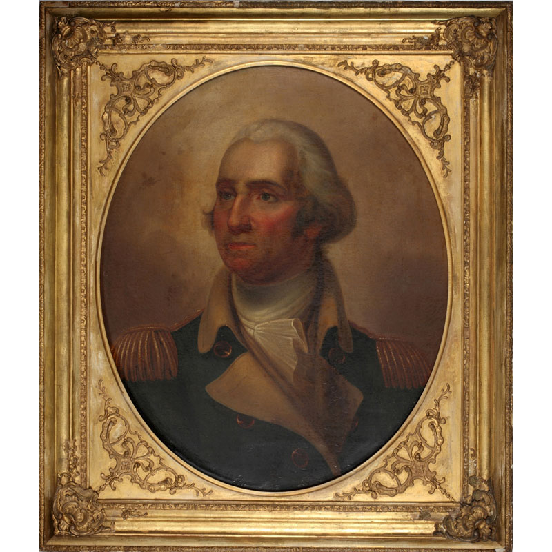 Portrait of George Washington Attributed to Rembrandt Peale Gift from President Franklin Pierce to Second King Pinklao, 1856 92 x 79 cm Courtesy of the Fine Arts Department of Thailand; P.48