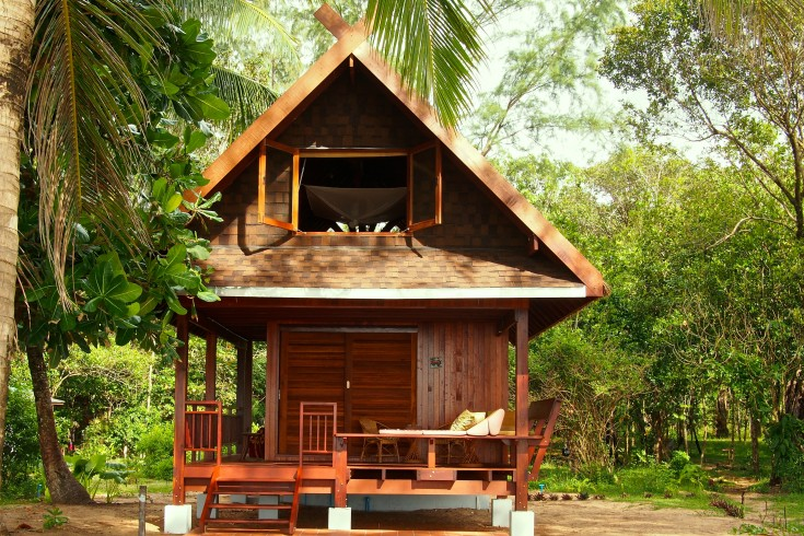 baan nokhook - sleeps 2 people, 8 mns to clubhouse,