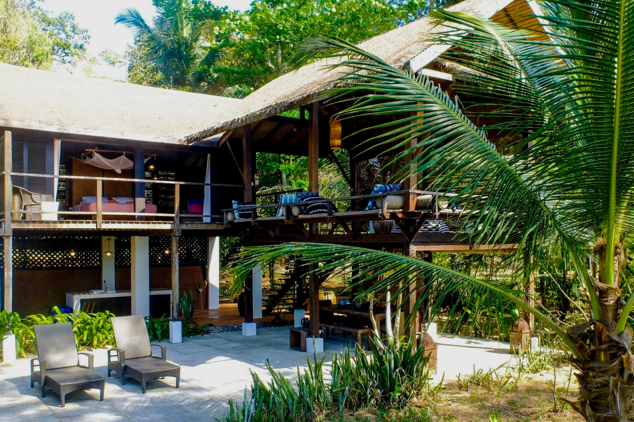 baan tamarind - sleeps 2 people, 2 mns to clubhouse