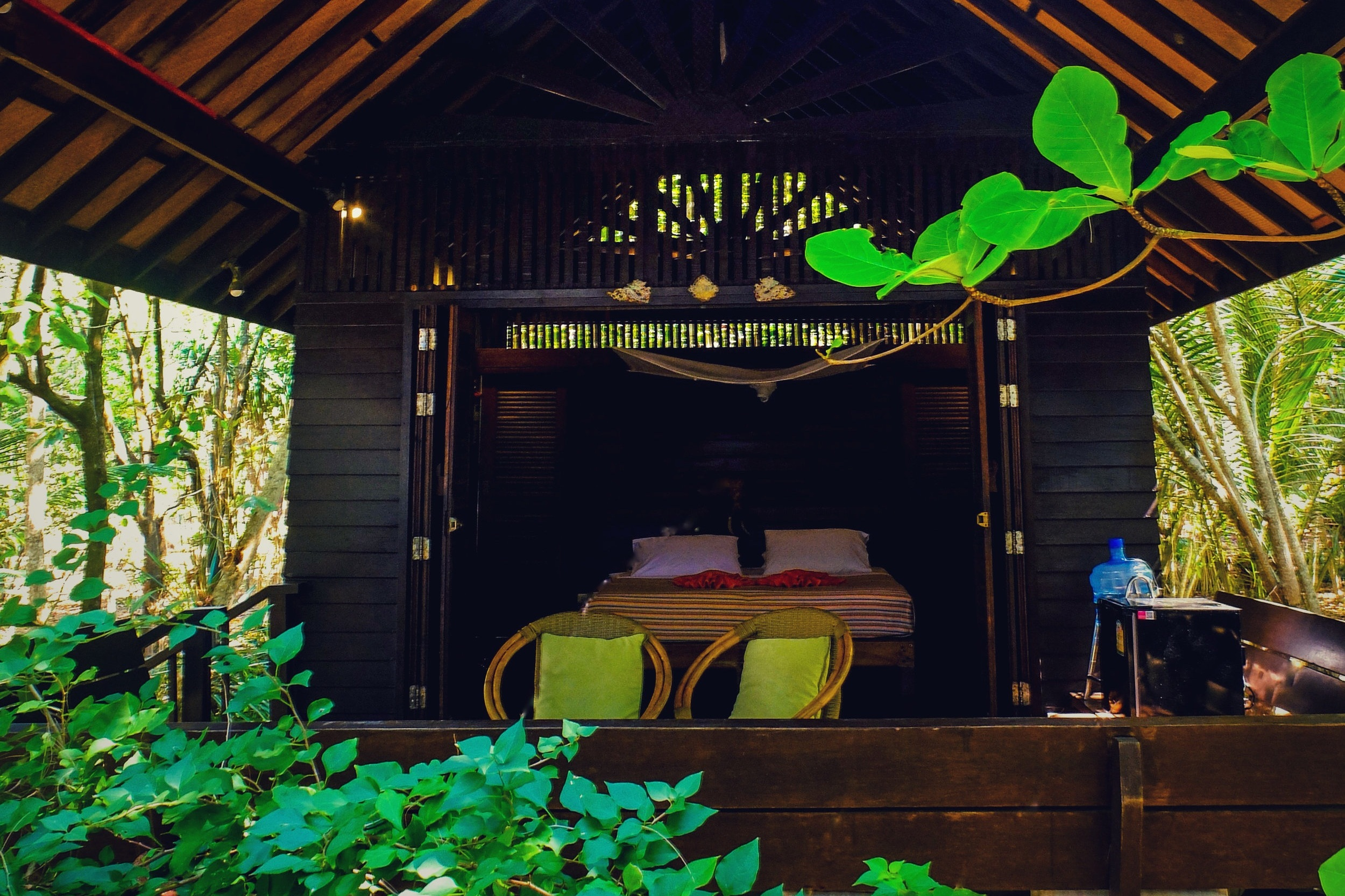 baan robin - sleeps 2 people, 4 mns to clubhouse