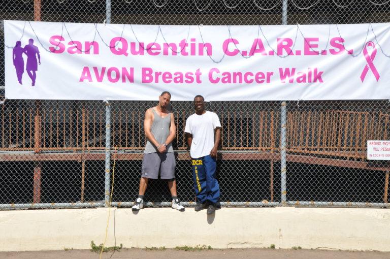 Rahsaan Thomas (l) & Emile DeWeaver (r), San Quentin C.A.R.E.S Avon Breast Cancer Walk