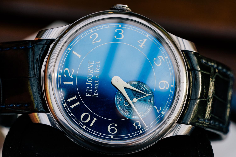 FPJourne-Chronometre-Bleu-title