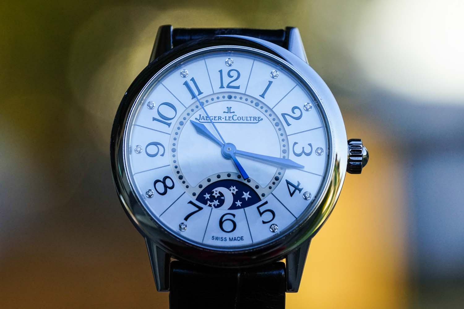 Jaeger-LeCoultre Rendez-Vous Night & Day Bokeh Mother of Pearl Diamonds