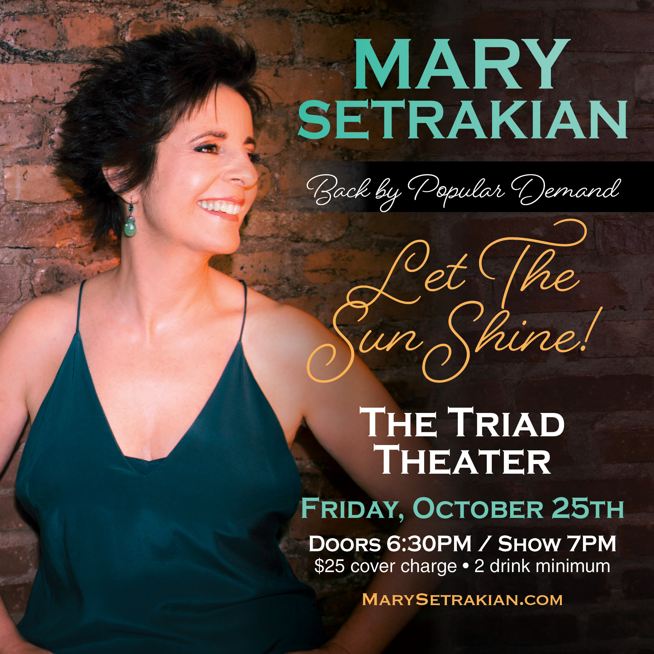 Mary Setrakian in Concert at the Triad!