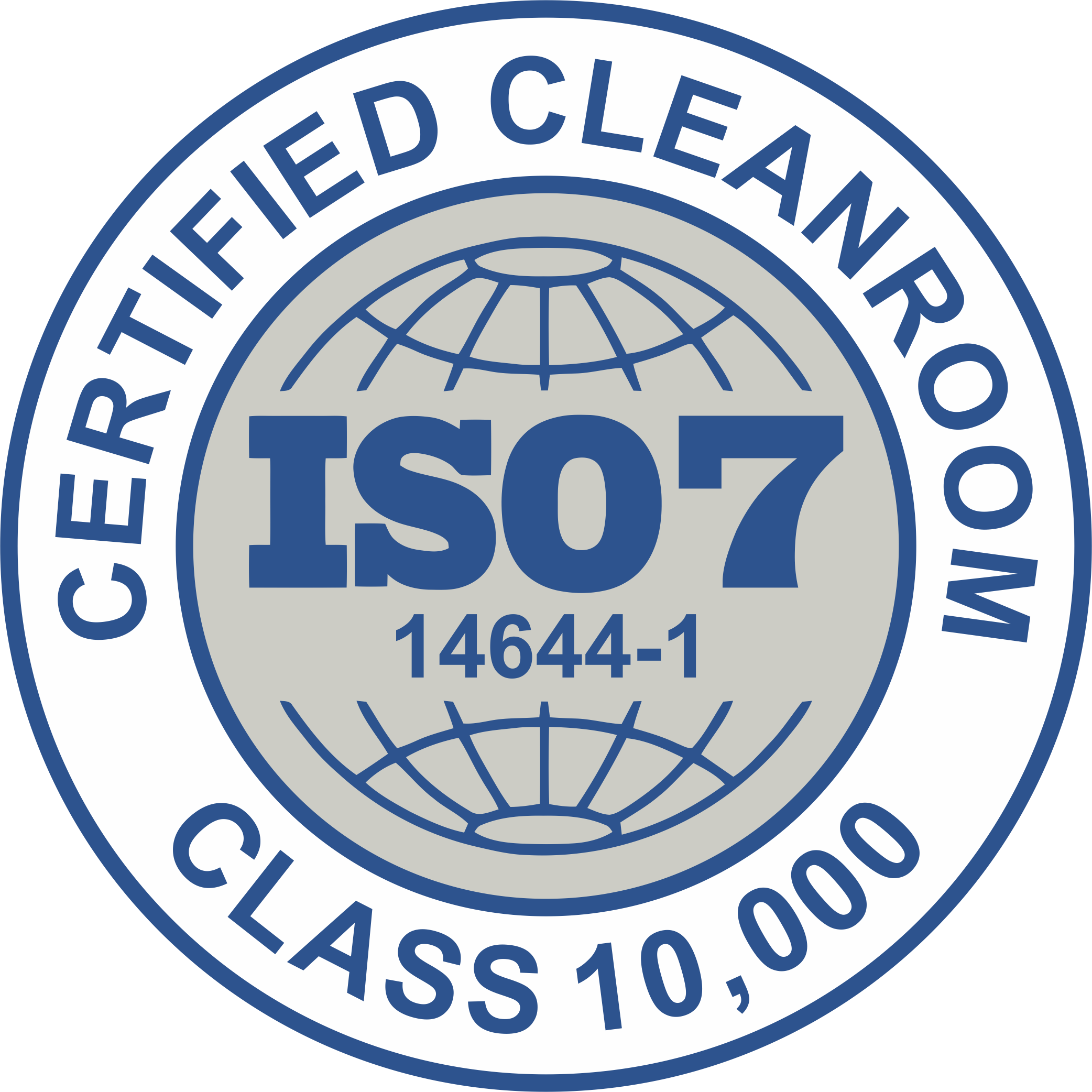 ISO - Certified Cleanroom - Seal Blue.png
