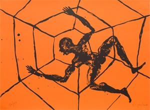 Barthélémy Toguo  Lithographie, 2013 48 x 65 cm, 50 ex./BFK Rives (Réservée aux membres donateurs)