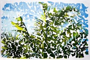 Carole Benzaken  Lithographie, 2012 86 x 57 cm, 50 ex./BFK Rives (Réservée aux membres donateurs)