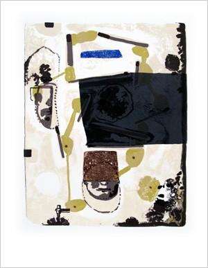 Jean-Michel Alberola  Lithographie, 2011 65 x 50 cm, 50 ex./BFK Rives (Réservée aux membres donateurs)