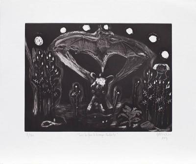 """La Galerie Item présente l'exposition de  Damien Deroubaix  """" EL ORIGEN DEL MUNDO """" du 22 octobre au 28 Novembre, 2015.  Galerie Item (51 rue du Montparnasse, 75014 Paris, Lundi - Samedi, de 11h à 19h)"""