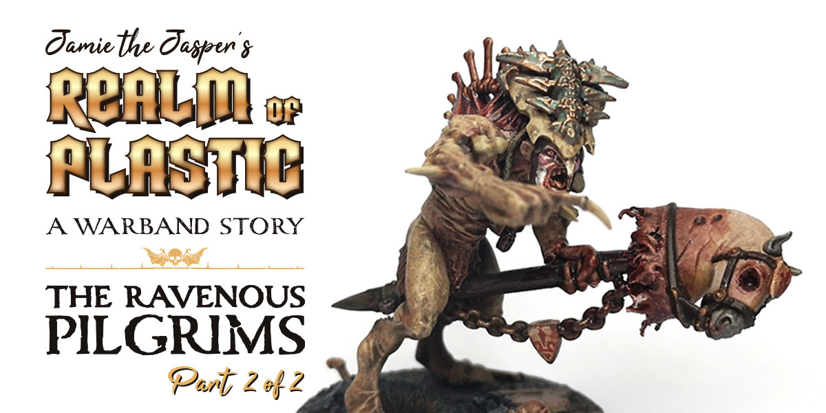 Warhammer Age of Sigmar Flesh-eater Courts conversion blog