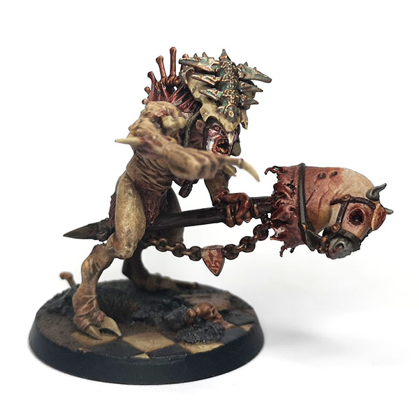 Warhammer Age of Sigmar - Flesh eater Courts, Crypt Haunter Courtier Conversion.