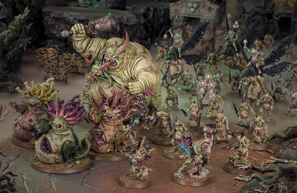 Warhammer Age of Sigmar blog - Maggotkin of Nurgle battletome review