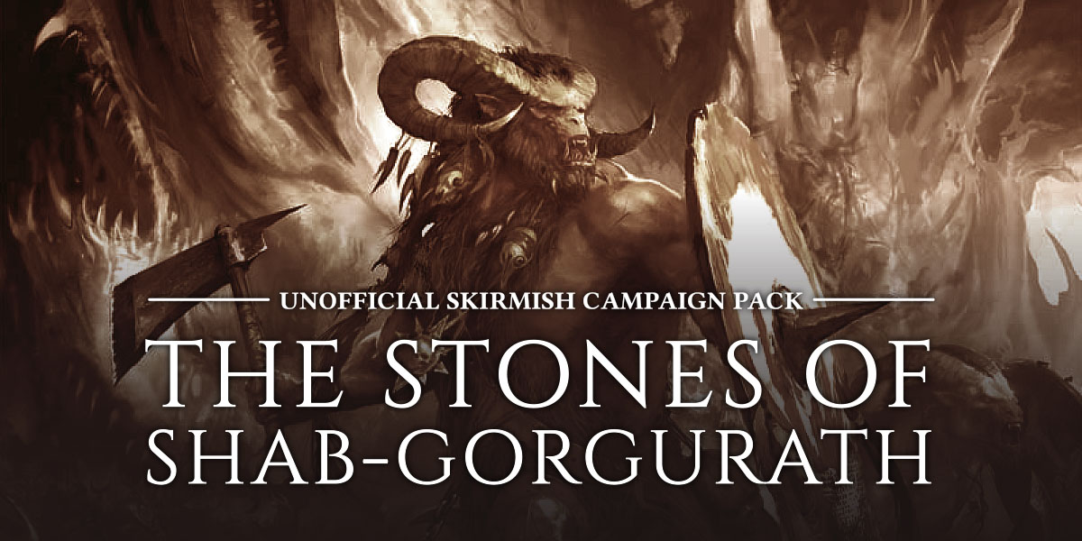 Age of Sigmar Narrative Play Skirmish Campaign - Shab-Gorgorath