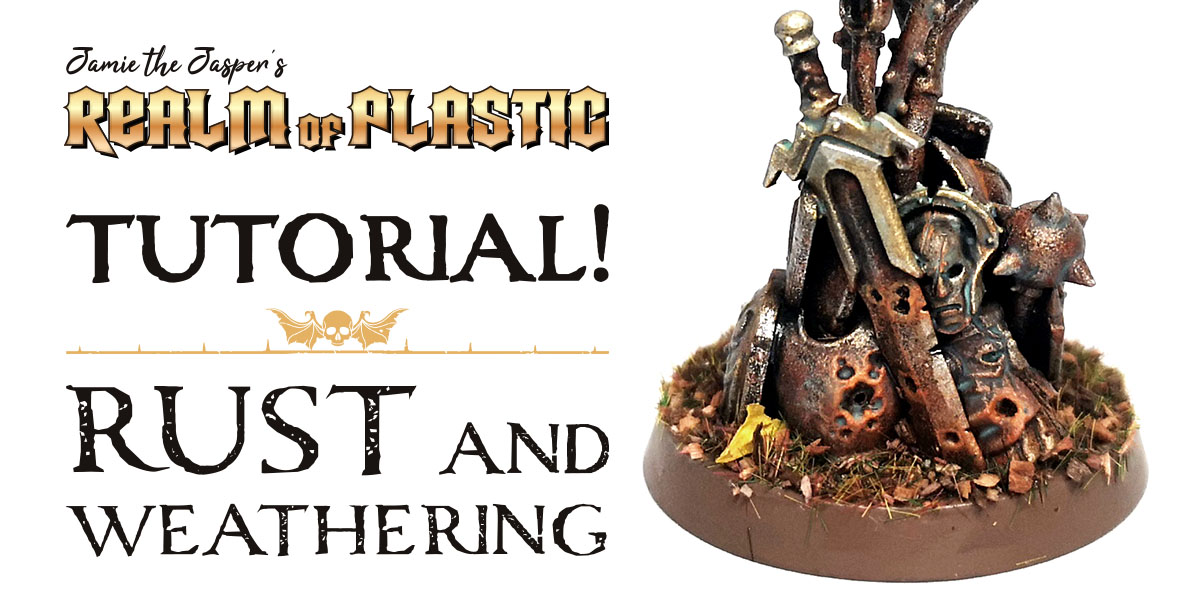 Warhammer Miniature Painting Tutorial - Rust and Weathering