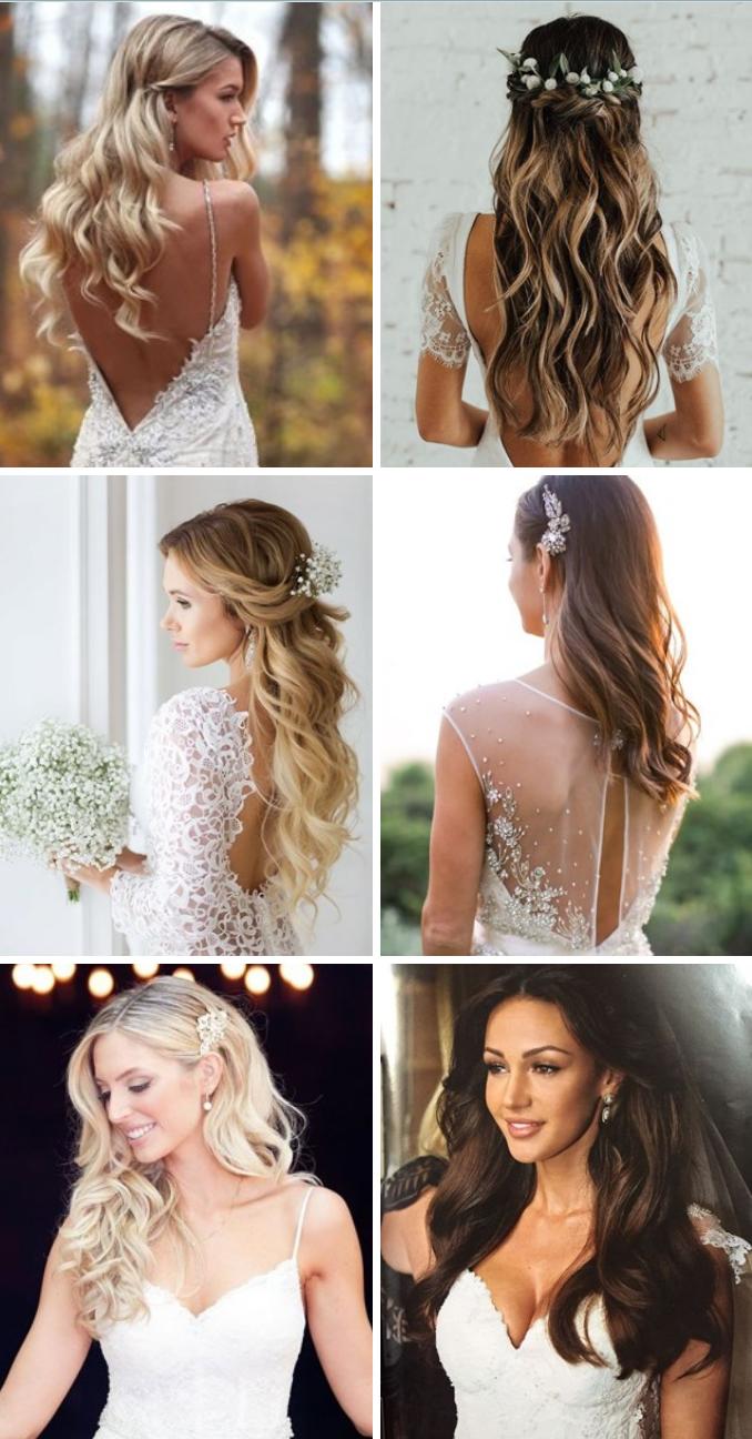 Håret satt opp / Updo  Rufsete og kult eller mykt og romantisk - ditt valg!
