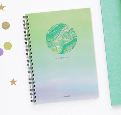Beautiful notebook and folder from The Magic Notebook http://www.themagicnotebook.co.uk/notebooks/unillustrated.php