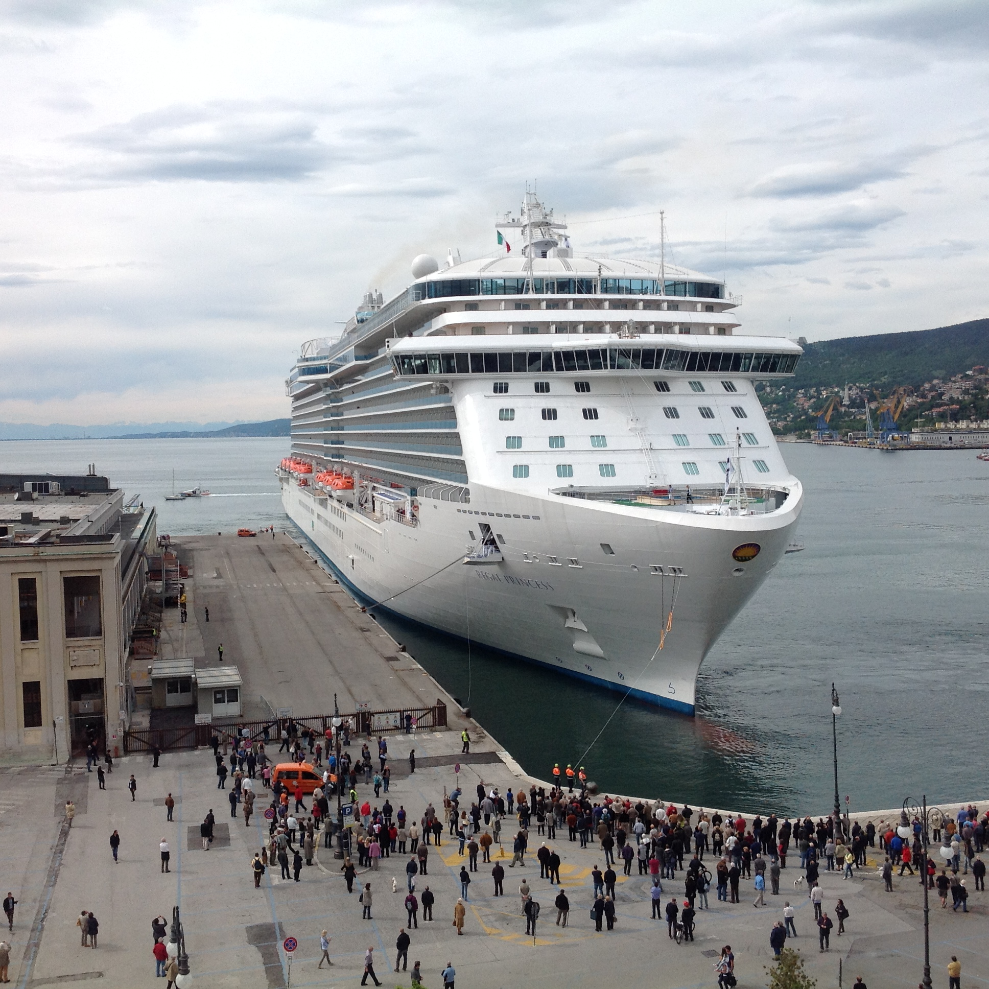 Regal Princess, Trieste