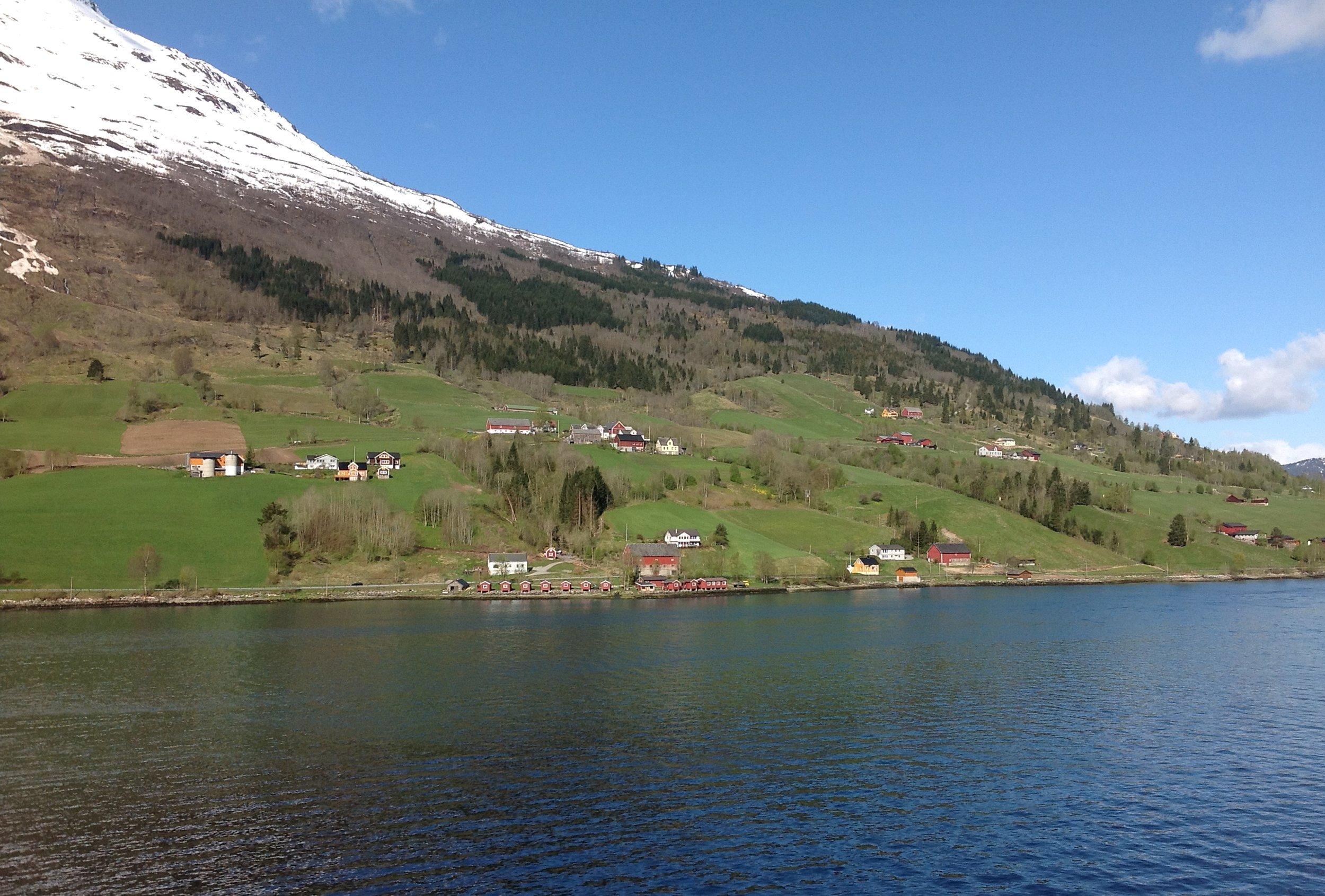 Heading for Bergen, Norway