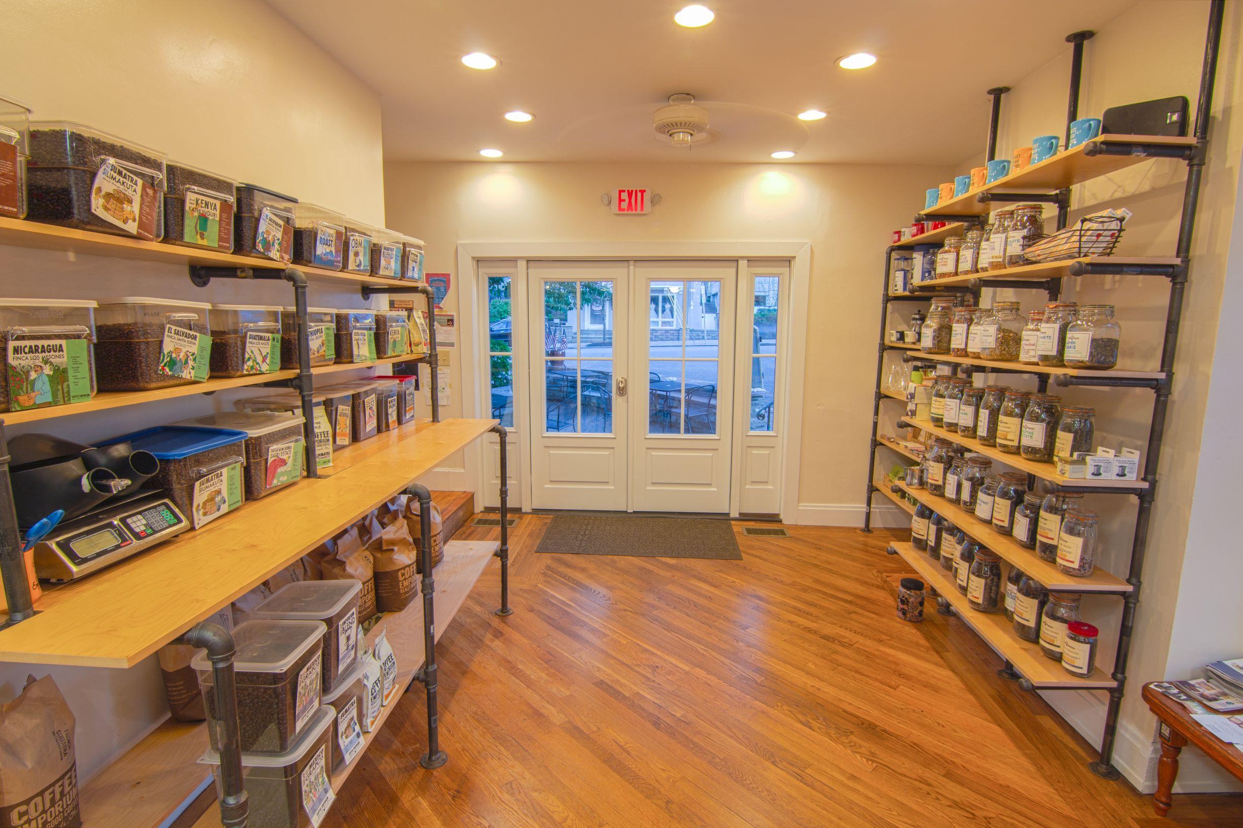 Interior Retail Shelving System