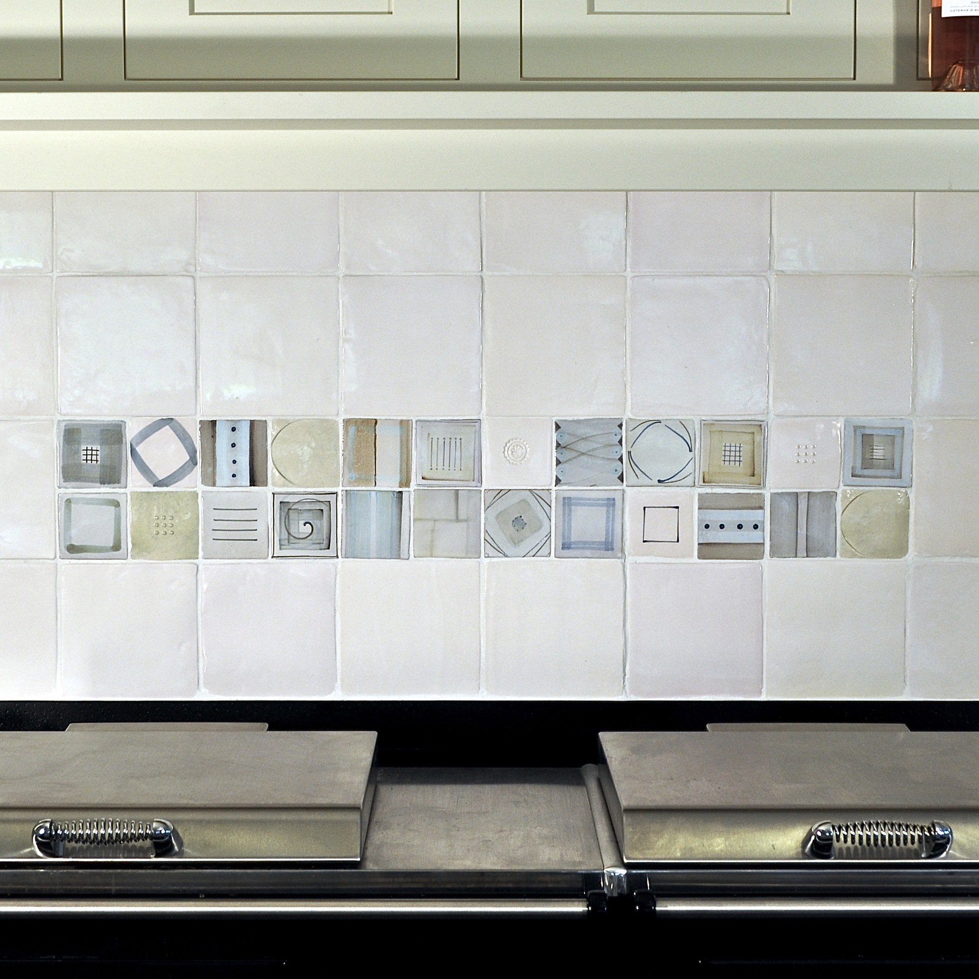 Piccolpasso Tiles:   An artistic statement which doesn't date.