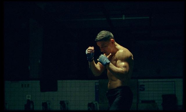 Still from the rushes of an ongoing project, a mini-portrait film of MMA fighter Damir Hadzovic, directed by Benjamin Hesselholdt, shot on 16mm 🎥  #shoton16mm #kodakvision3 #500t #arrisr3 #arri #zeissultraprime #cinematography #shotonfilm #kodakfilm #filmisnotdead #analog #movie #ishootfilm #believeinfilm #filmcommunity #analogue #filmfeed #buyfilmnotmegapixels #shootfilm #16mmfilm #filmmaking #keepfilmalive #films #filmmaker #kodak #mma #ufc #damirhadzovic @benjamin_hesselholdt @hadzo @kodak_shootfilm