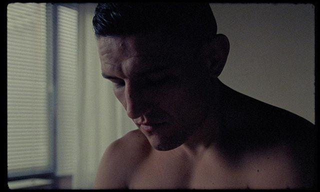 Still from the rushes of an ongoing project, a mini-portrait film of MMA fighter Damir Hadzovic, directed by Benjamin Hesselholdt, shot on 16mm 🎥  #shoton16mm #kodakvision3 #500t  #nofilter #arricam #zeissultraprime #cinematography #shotonfilm #kodakfilm #filmisnotdead #analog #movie #ishootfilm #noir #believeinfilm #filmcommunity #analogue #filmfeed #buyfilmnotmegapixels #shootfilm #16mmfilm #filmmaking #thefilmcommunity #keepfilmalive #films #filmmaker #kodak #mma #ufc #damirhadzovic @benjamin_hesselholdt @hadzo @kodak_shootfilm @kodak