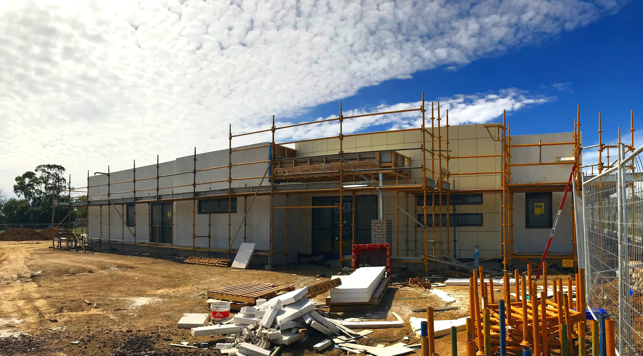 Kids on aspen - 08/01/19The windows are in and the facade is being clad. So much excitement out on our site. Not long now!