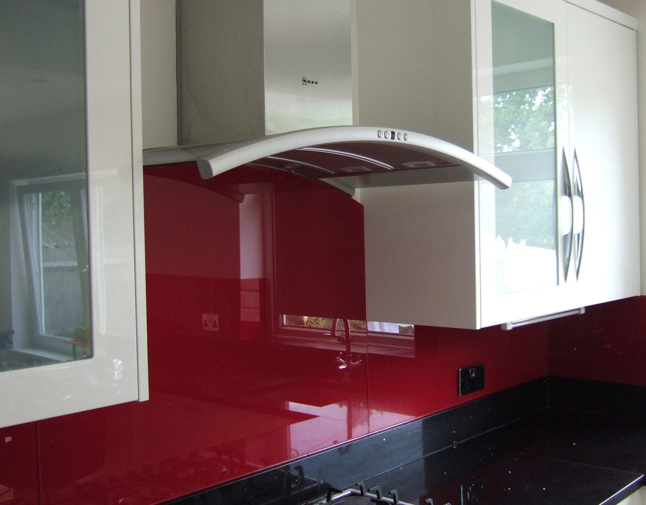 Glass Splashbacks - Reds, Pinks & Purples