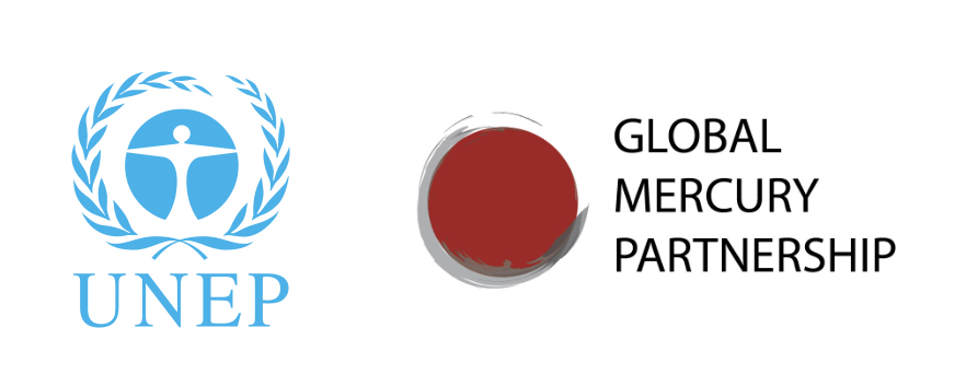 UNEP and Global Mercury Partnership logos