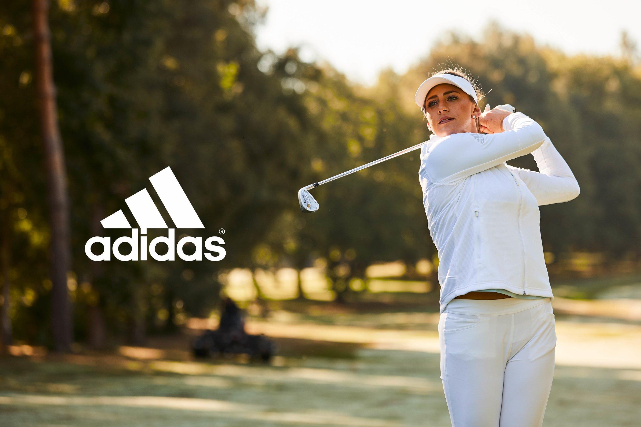 Sarah-Jane Boyd for Adidas Golf