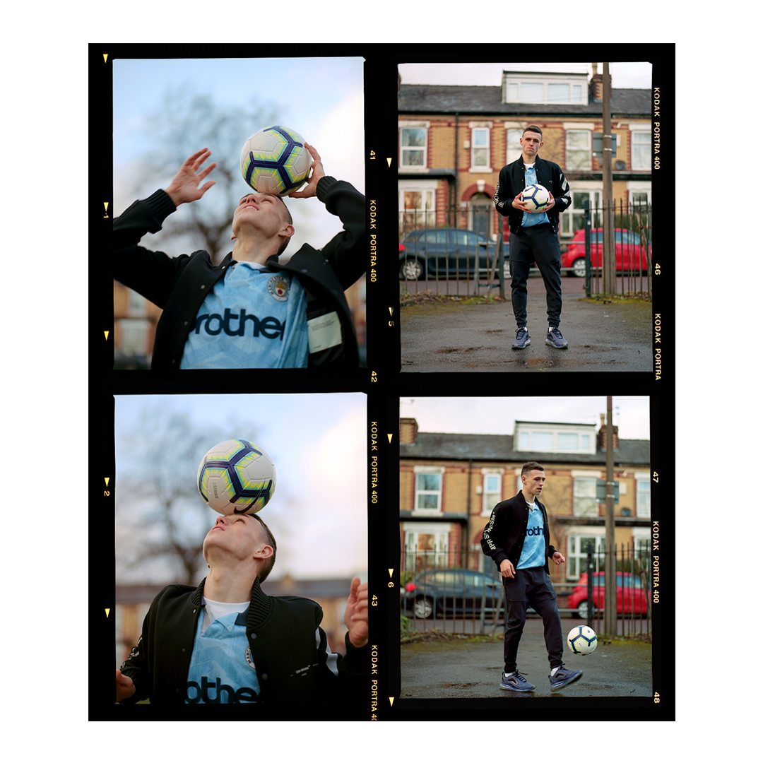 Phil Foden for Beats by Dre & Soccerbible Issue 12