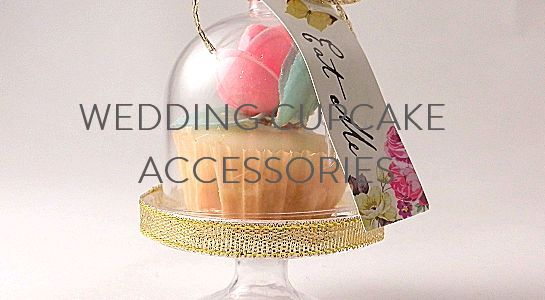 wedding cupcake accessories