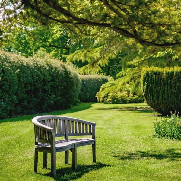 Walled Garden bench