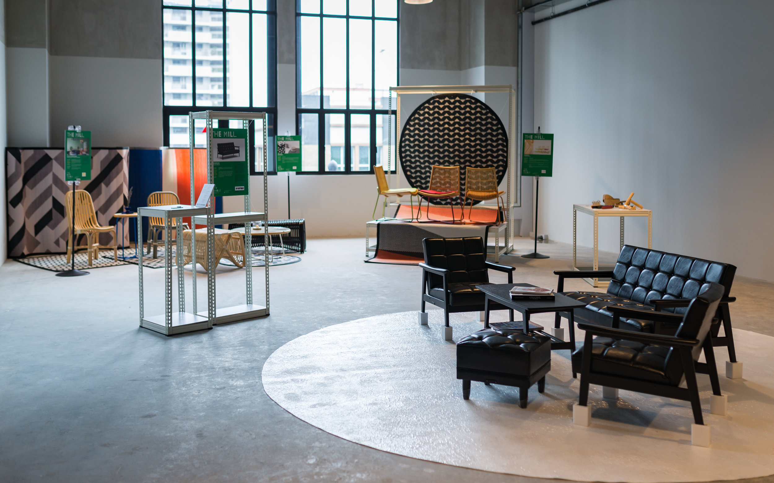 Multi-label studio, For the Common Goods and Retro Colony showcasing their collections