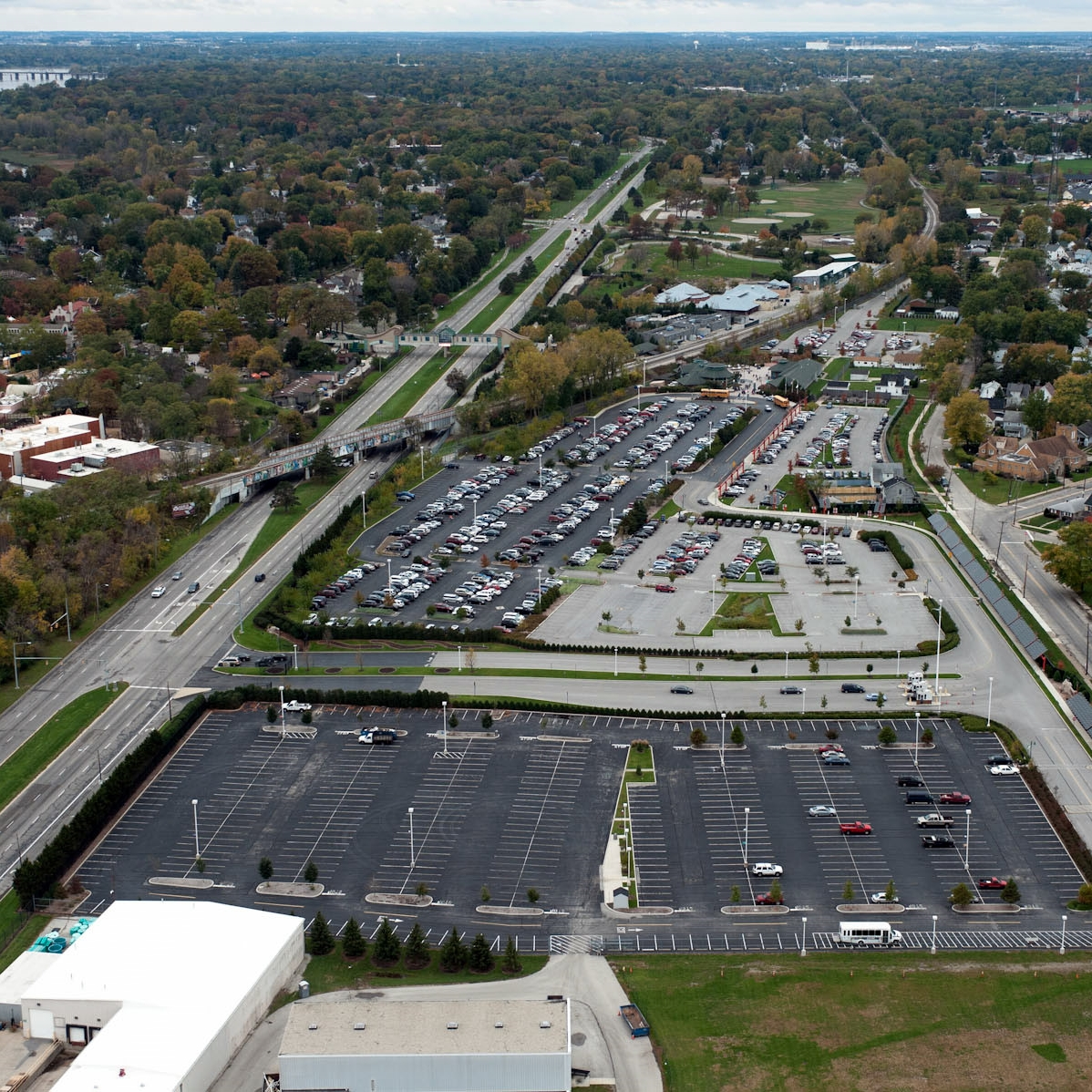 Toledo Zoo North Parking Lot Expansion -