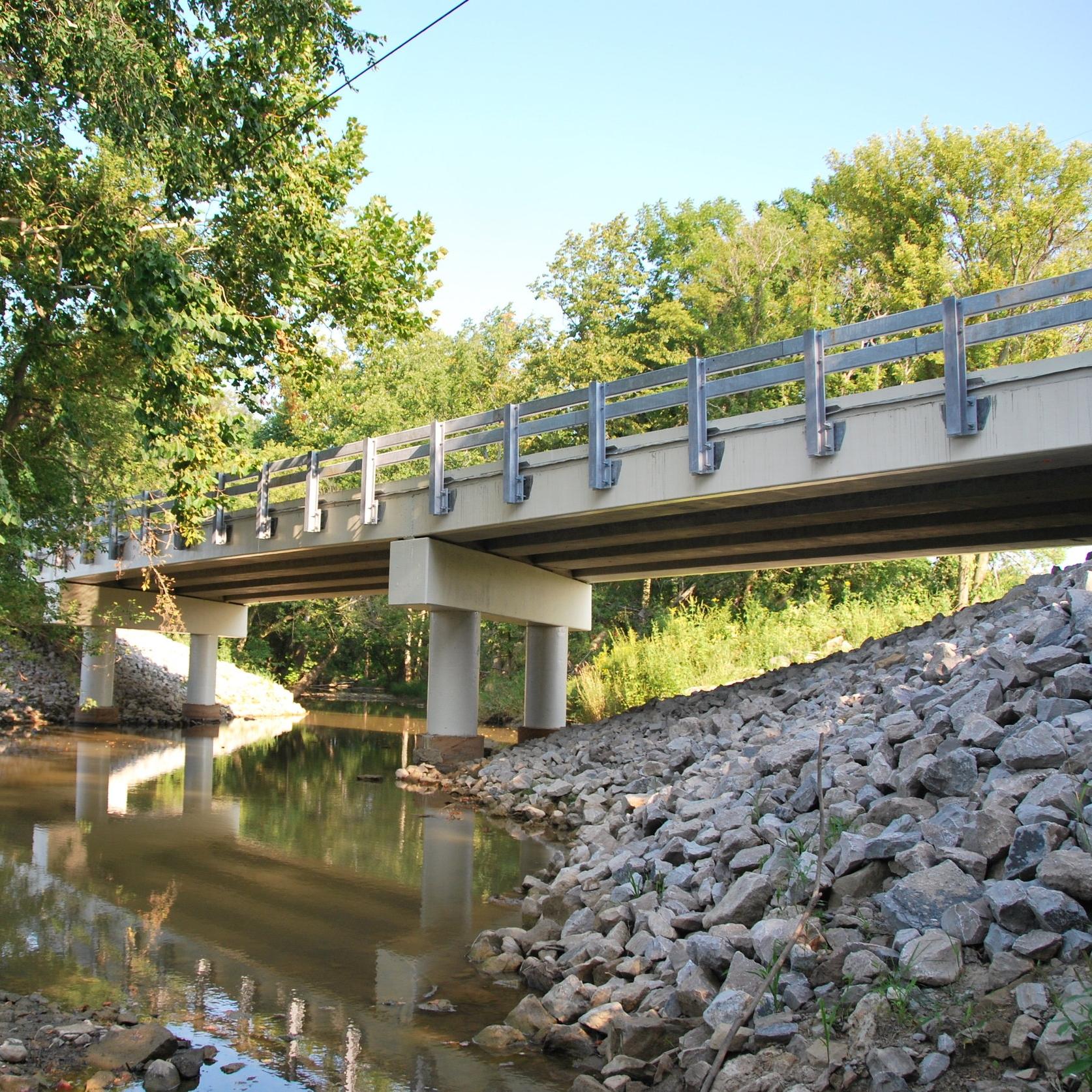 Sherman-Norwich Road Bridge Replacement - Construction / Technical