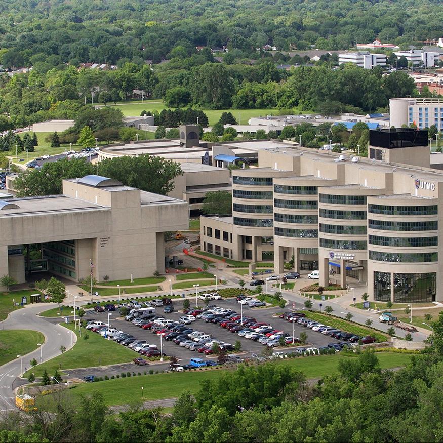 UT Medical Center Library Circle Parking -