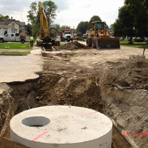 Fifth Street Reconstruction -