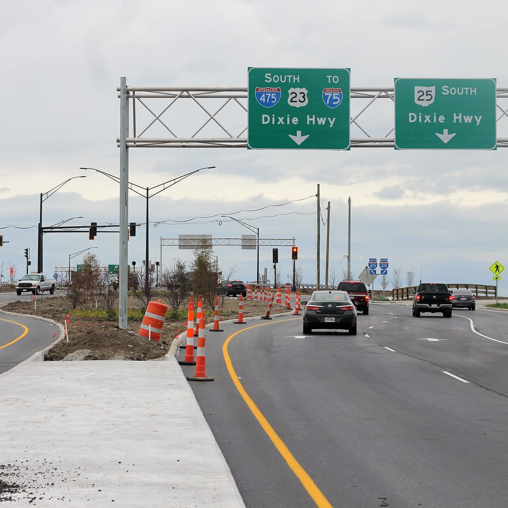 Diverging Diamond Interchange -