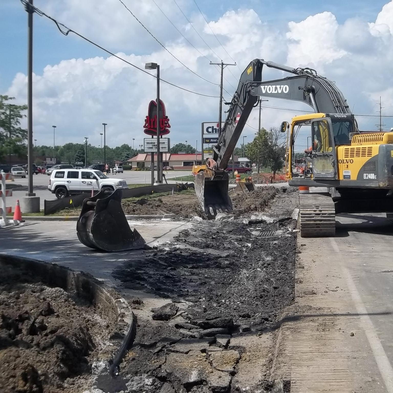 South Main Street Widening and Resurfacing -