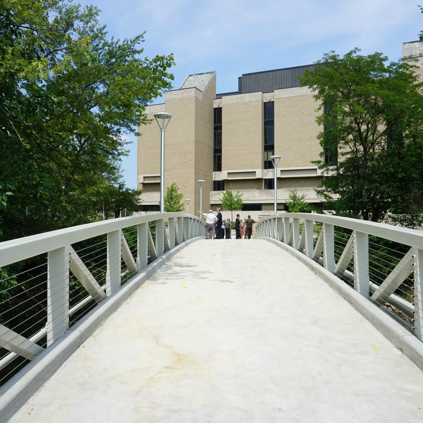 Carlson Library Bridge Replacement -
